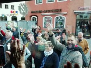 Búcsú Eggenfeldeni barátainktól
